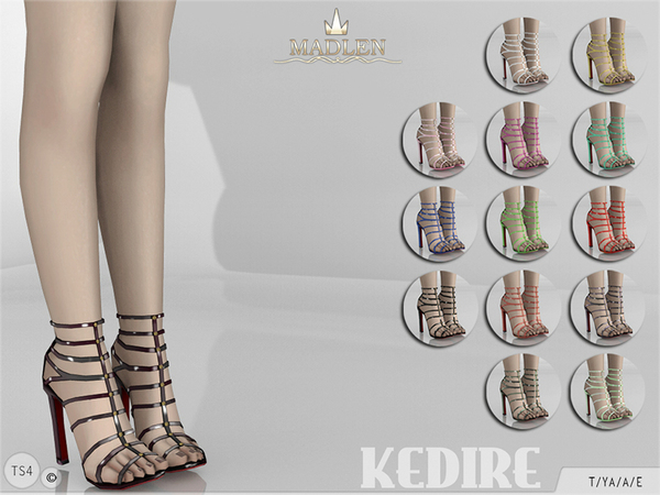 The Sims Resource: Madlen Kedire Shoes by MJ95