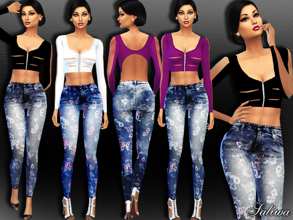 The Sims Resource: Dreamy Outfit by Saliwa
