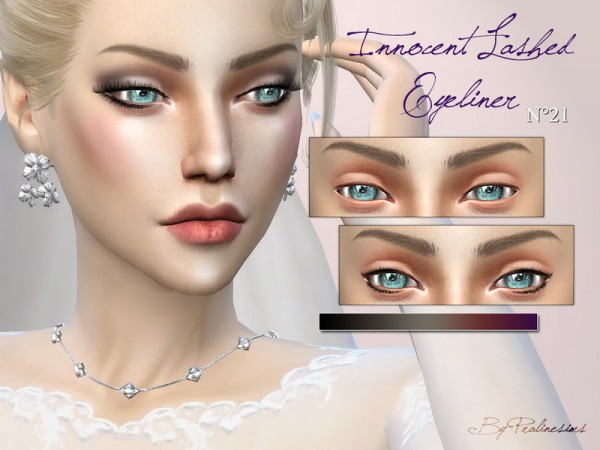 The Sims Resource Wedding Makeup Set By Pralinesims