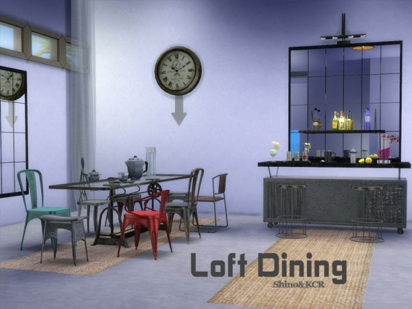 The Sims Resource: Loft Dining