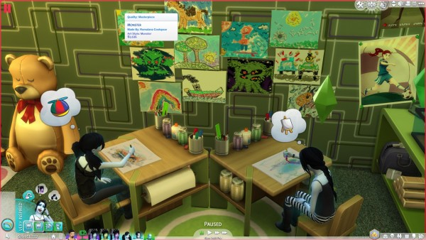 Mod The Sims: Child Prodigies   School, Art and Uniforms by coolspear1