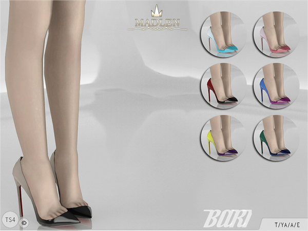 The Sims Resource: Madlen Bari Shoes by MJ95