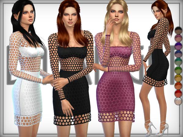 The Sims Resource: Net Dress by DarkNighTt