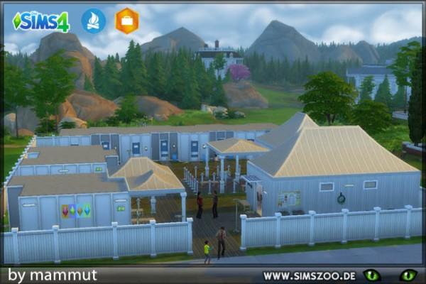 Blackys Sims 4 Zoo: Accommodation house by Mammut