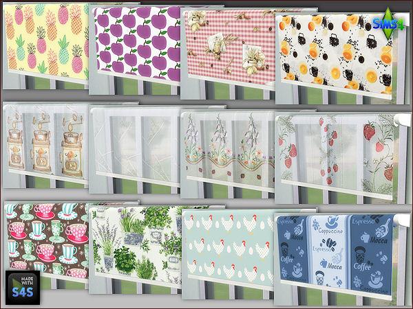Arte Della Vita: 3 sets with 4 blinds