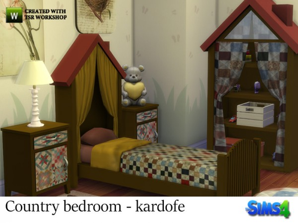 The Sims Resource: Contry bedroom by Kardofe