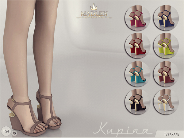 The Sims Resource: Madlen Kupina Shoes by MJ95