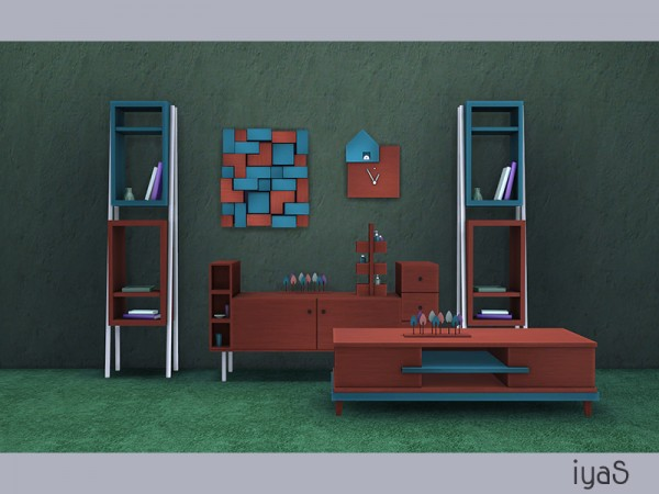 The Sims Resource: Minimalist Living Room by Soloriya