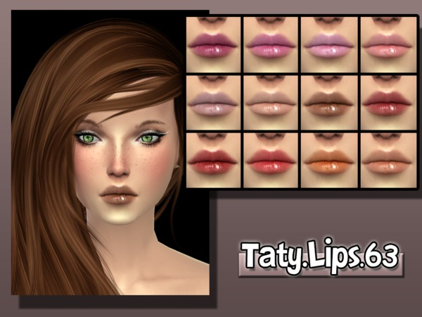 The Sims Resource: Lips 63 by Taty