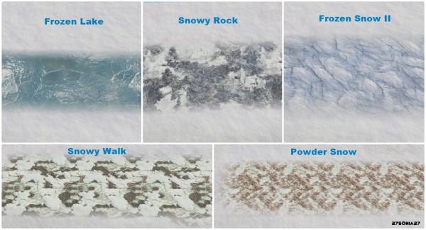 27Sonia27: Snow & Frost Terrain Paints