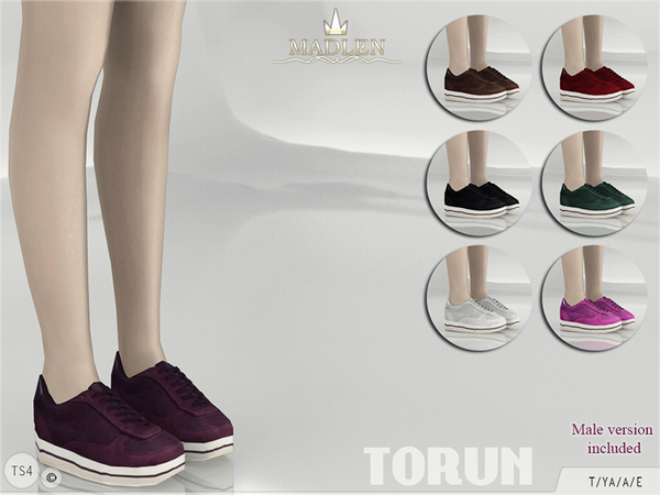 The Sims Resource: Madlen Torun Sneakers by MJ95