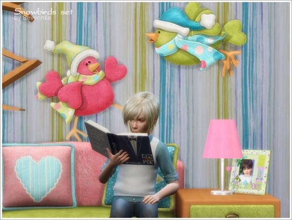 Sims by Severinka: Snowbirds set