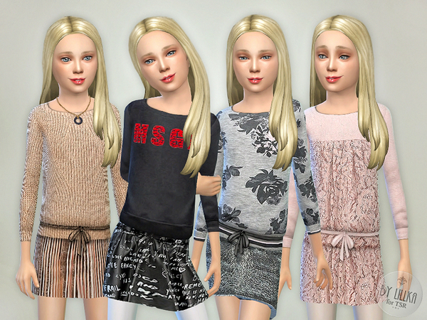 The Sims Resource: Designer Outfits Collection P02 by Lillka