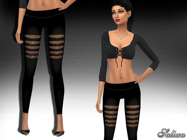 The Sims Resource: Basic Leggings V1 by Saliwa