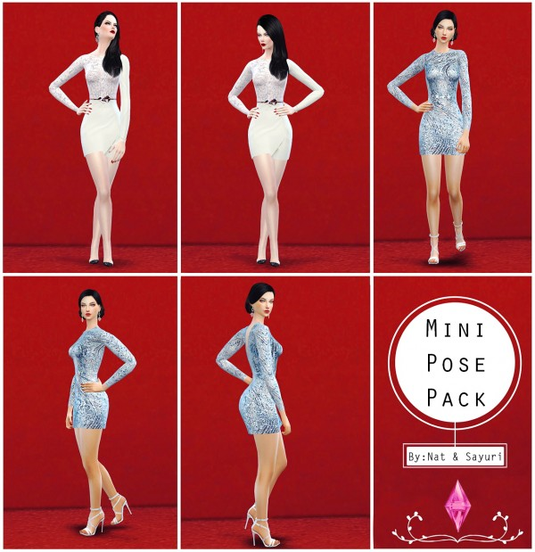 Nat Dream Sims: Mini Pose Pack