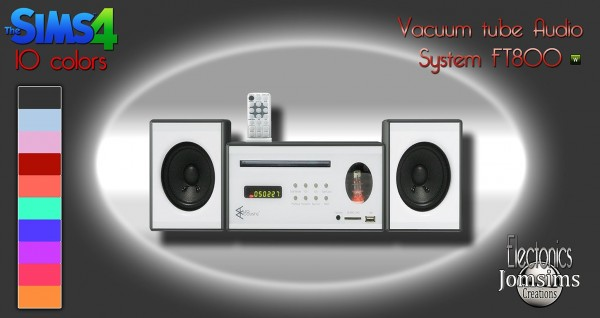 haircut audio jom sims creations new vaccum audio system ft800 6314