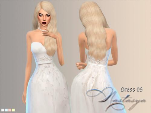 Nastas`ya: Dress wedding 005