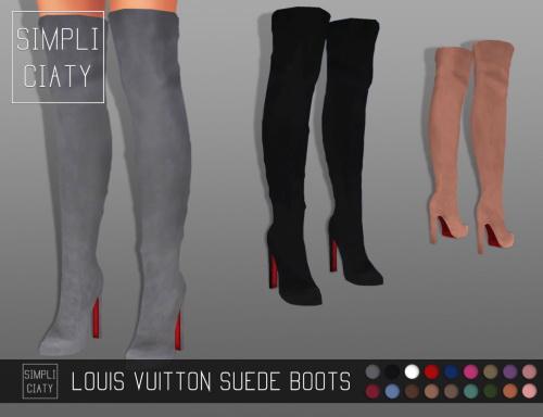 Simpliciaty: Suede Boots