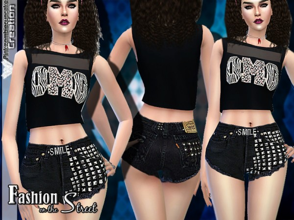 The Sims Resource: Fashion on the Street Designer Set by Pinkzombiecupcake