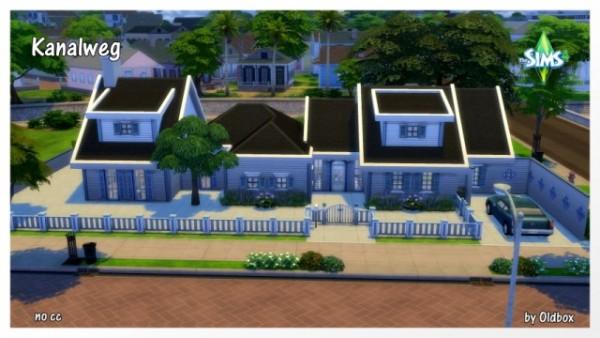 All4Sims: Kanalweg house by Architektur