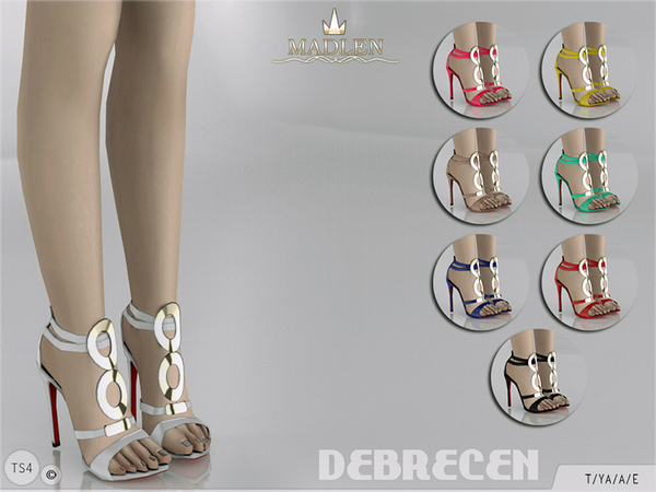 The Sims Resource: Madlen Debrecen Shoes by MJ95