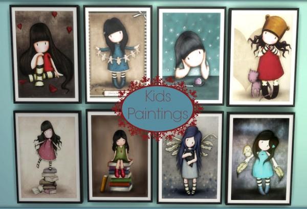 Dinha Gamer: Kids Paintings 101