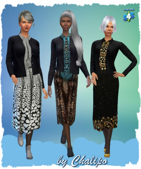 All4Sims: Outfit by Chalipo