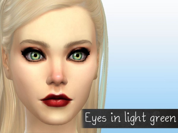 The Sims Resource: Real Color Contacts Collection by Fortunecookie1