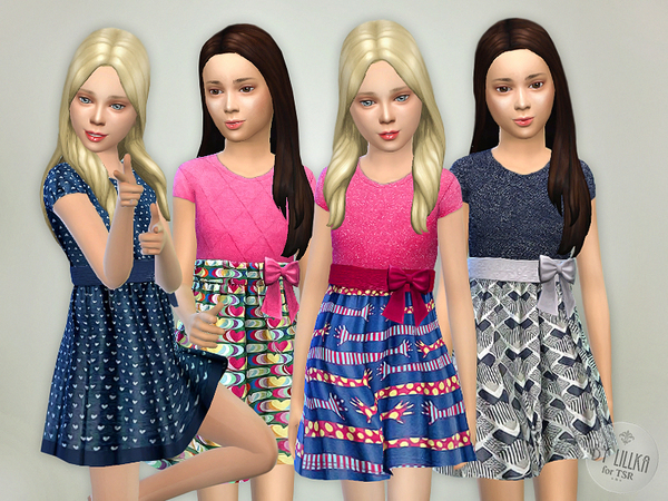 The Sims Resource: Designer Dresses Collection P05 by lillka