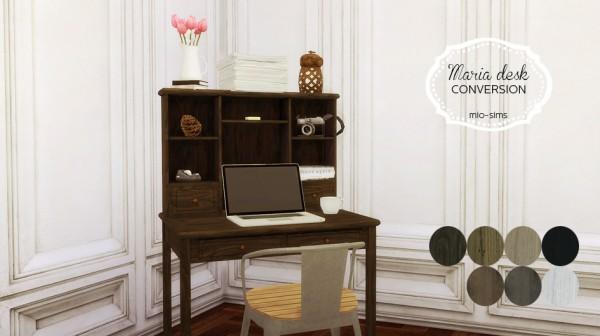 Mio Sims Maria Desk Sims 4 Downloads