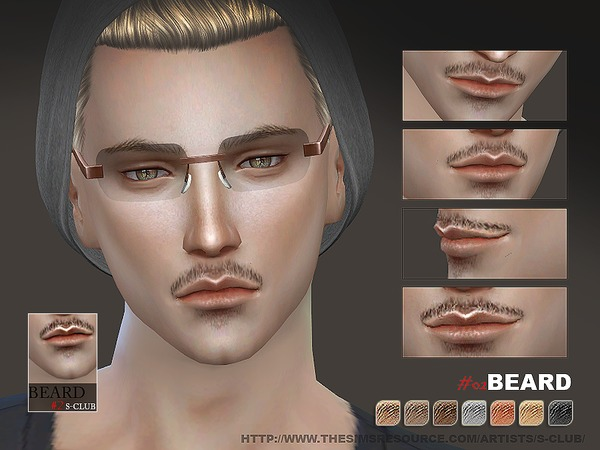 The Sims Resource: Beard 02 by S Club