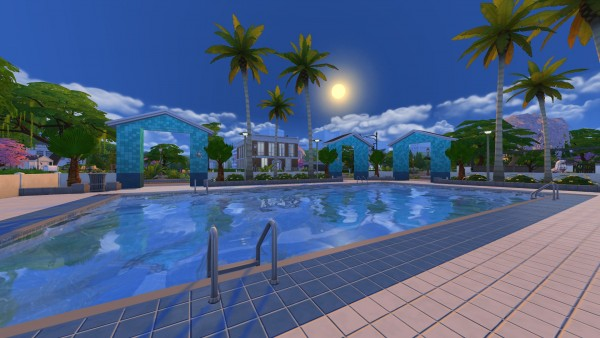 Mod The Sims Le Petite Shark Pool Center By The Only Zac