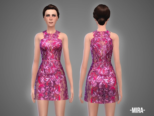 The Sims Resource: Mira   dress by April
