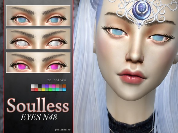 The Sims Resource: Anime Eye Megapack N04   10 different eyes by Pralinesims