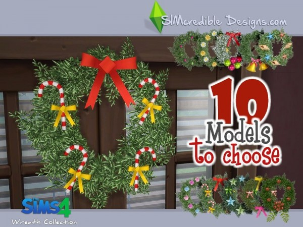 The Sims Resource: Wreath Collection by SImcredible Design