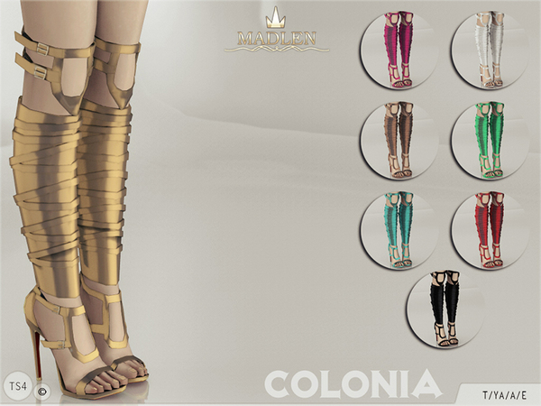 The Sims Resource Madlen Colonia Shoes By Mj95 Sims 4