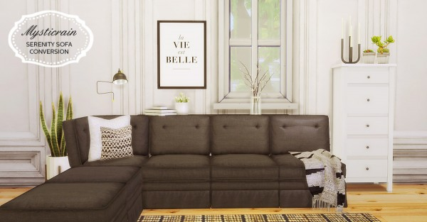 Mio Sims Mysticrain Serenity Sofa Conversion
