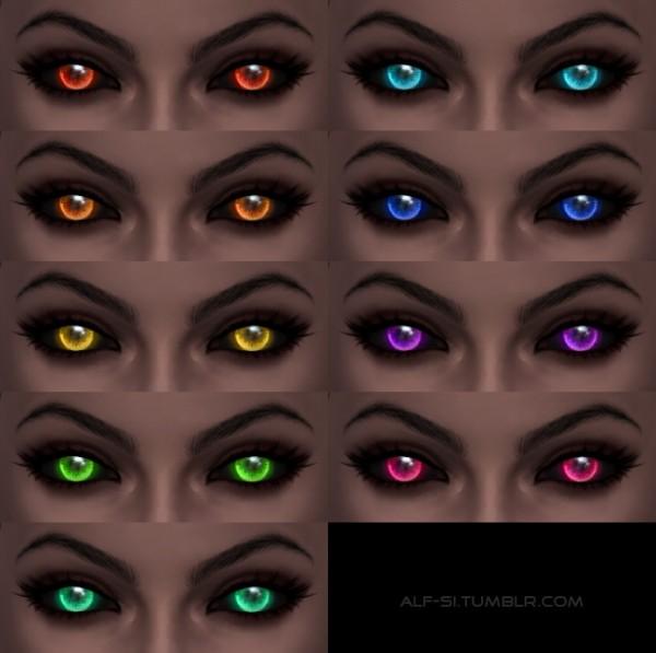 Alf Si: Halloween eyes