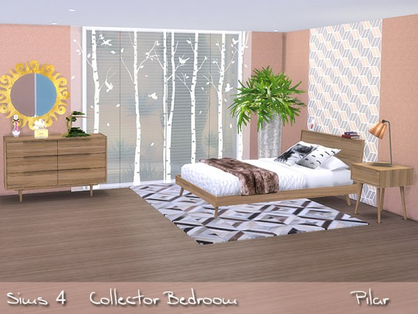 Sim Control: Collector Bedroom by Pilar