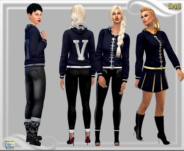 Dreaming 4 Sims: Hoodie V
