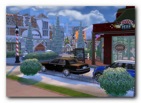 Architectural tricks from Dalila: Boulevard Twin Point