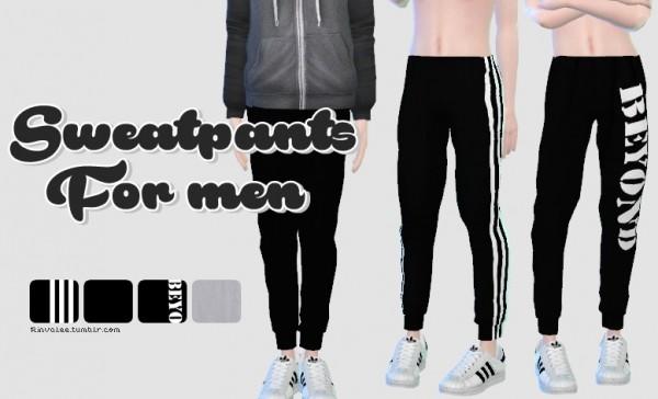 Rinvalee: Sweatpants for men