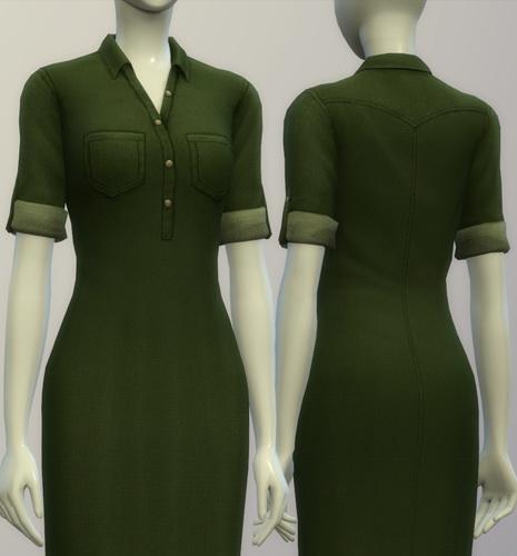 Rusty Nail: Denim shirt dress