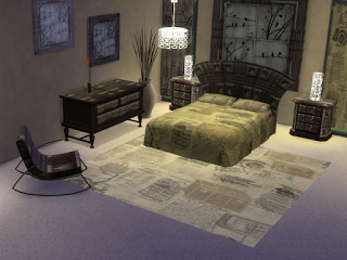 Trudie55: Brown leather bedroom set