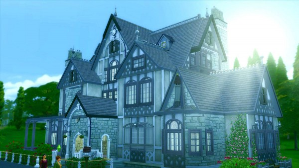 Jarkad Sims 4 Tudor House No 1 Sims 4 Downloads