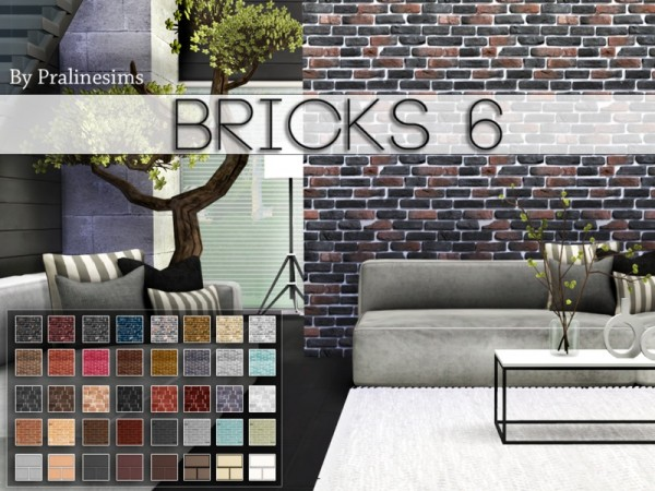 The Sims Resource Bricks 6 By Pralinesims Sims 4 Downloads