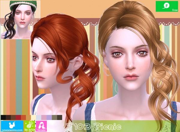 NewSea: J103 Picnic free hairstyle
