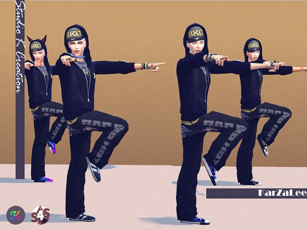 Studio K Creation Funny Poses Set Sims 4 Downloads
