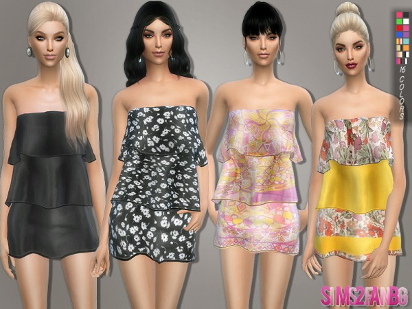 The Sims Resource: 111   Layer dress by sims2fanbg