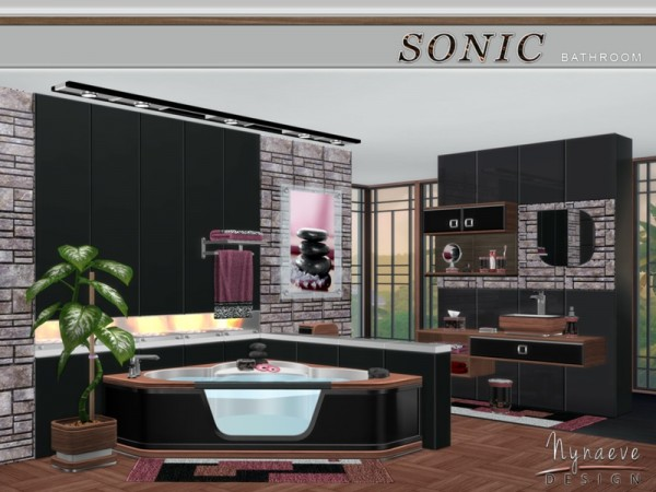 The Sims Resource: Sonic Bathroom by NynaeveDesign